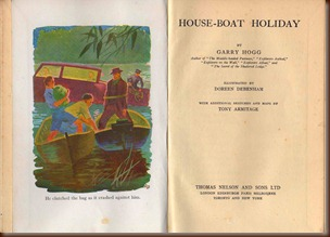 Houseboat Holiday title page