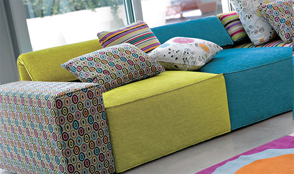colorful living room furniture designs inspiration