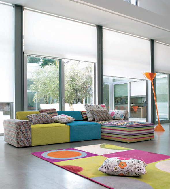 modern colorful sofa furniture design ideas
