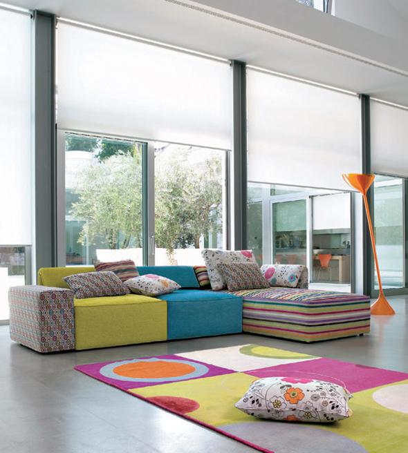 modern colorful sofa furniture design ideas