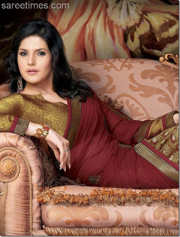 Zarine Khan Blouse Patterns 54