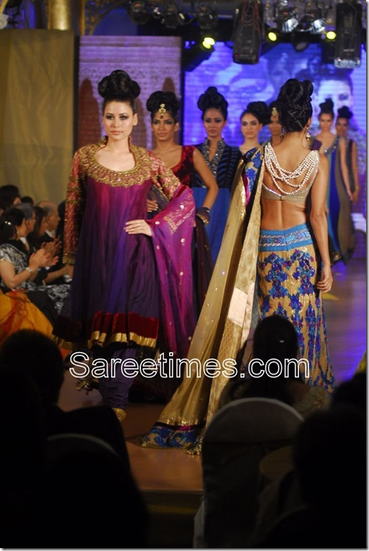 manish malhotra designer saree blouse for back sareetimes