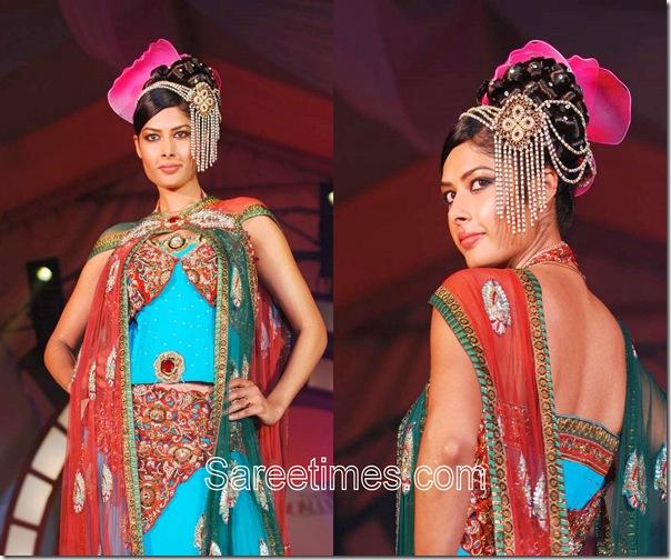 Rohit_Verma_Blue_Designer_Saree