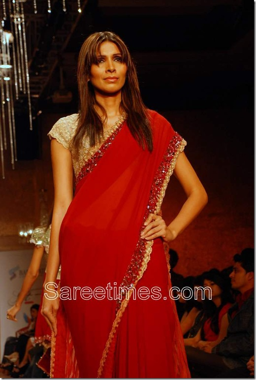 Rocky_S_Red_Saree