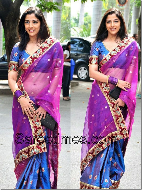 Nishanthi_Blue_Sari