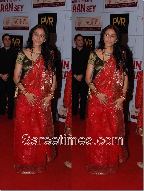 Sunita_Gowarikar_Red_Designer_Saree