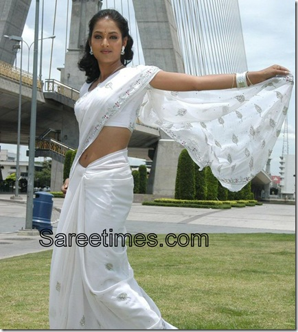 Vidisha_white-saree-