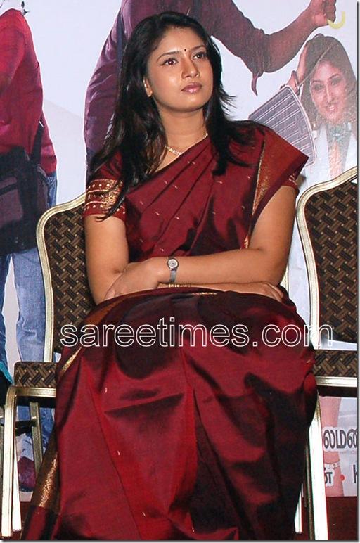 Sanghavi-Maroon-Silk-Saree