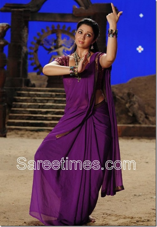Charni_Purple_Designer_Saree