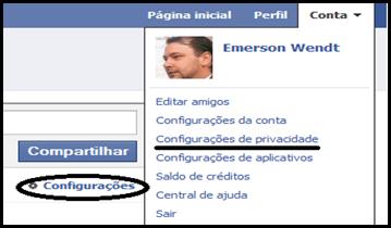 Facebook - restrição 2