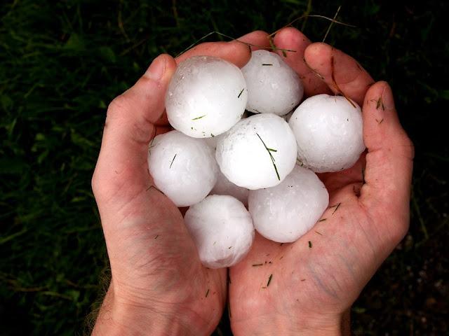 Hujan Batu di Bozeman, Montana