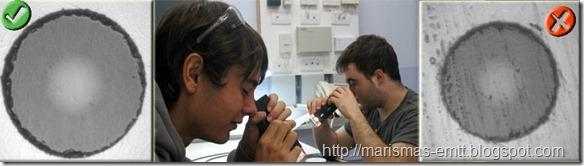 Inspeccionando terminaciones de fibra