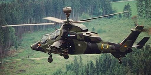 Helicóptero EC 665 tiger (Eurocopter) Tigre