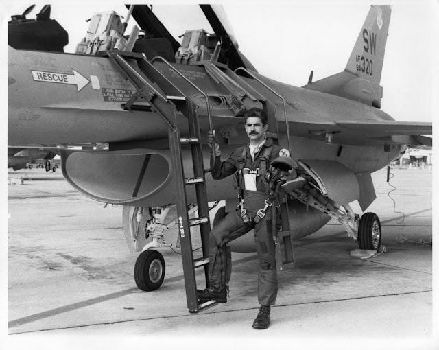 Un dato curioso del F-16 que voló Carballo CARBALLOF-16