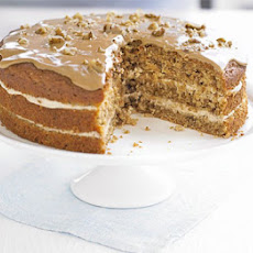 The ultimate makeover: Coffee walnut cake