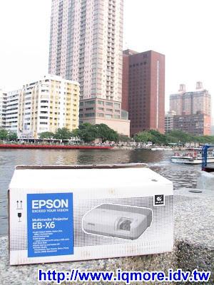 EPSON EB-X6高亮度行動商務投影機測試