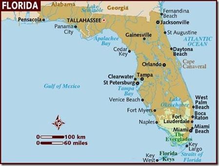 Florida - Map