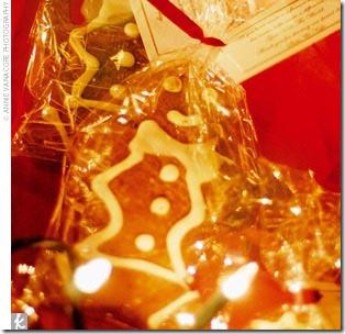 favor - gingerbread cookie
