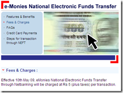 Electronic Fund Transfer, Free Money Transfer, e-Monies Electronic Funds Transfer - HDFC bank4_1242739708234