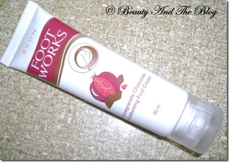Avon Pomegranate Foot Cream