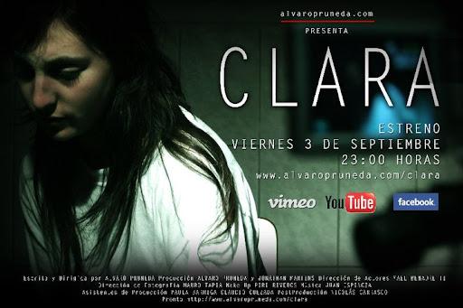 Clara cortometraje