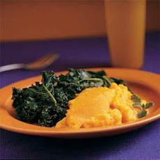 Winter Squash Soufflé and Greens