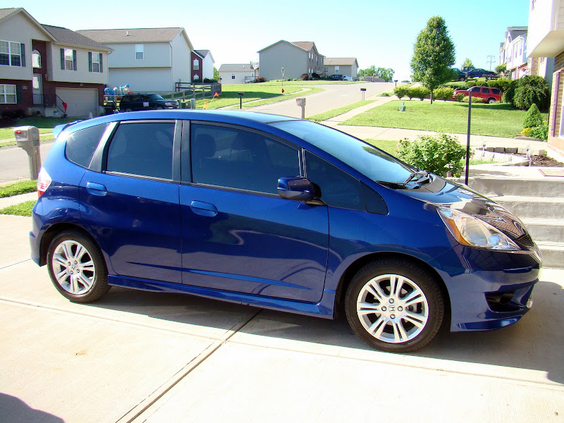 Window tint unofficial honda fit forums for Honda window tinting
