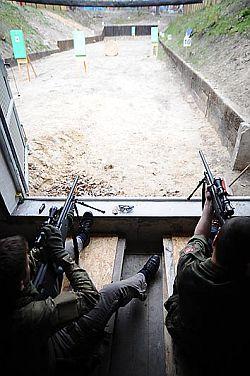 Nowa  strzelnica w Gdyni zostanie oficjalnie otwarta w połowie maja.