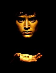 Frodo with ring
