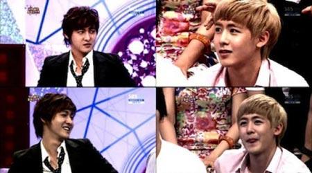 นิชคุณเล่นเปียโนใน Star King คู่กับ Shin Ji Ho