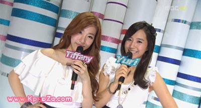 Tiffany และ Yuri ขึ้นแสดงอำลาใน Music Core