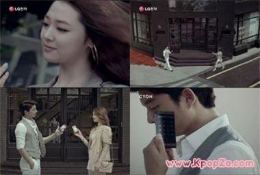 Gong Yoo และ Sulli ในเบื้องหลังโฆษณามือถือ 'Optimus Z'
