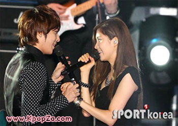 CNBLUE และ Seohyun ในคอนเสิร์ต 2010 Incheon Korean Music Wave