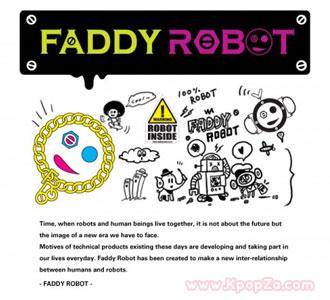 HyunA, Junhyung ,Sangchu, Outsider ร่วมงานกันในเพลงโปรโมท FADDY ROBOT