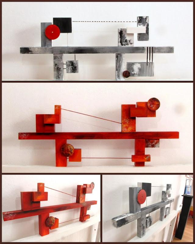 Cuadros abstractos modernos decora tu casa oficina o local for Decora tu oficina