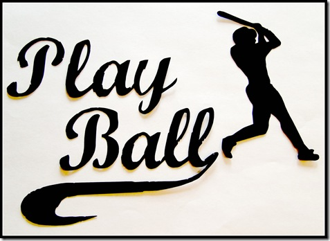 Play Ball Laptop Decal