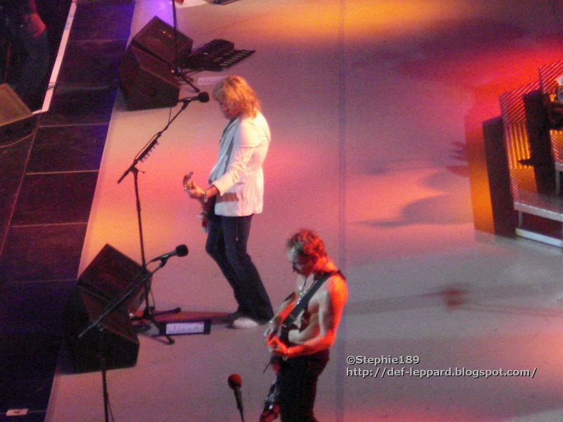 Sav and Phil - Def Leppard - 2008