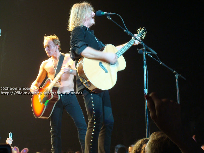 Phil Collen and Joe Elliott - 2008 - Def Leppard