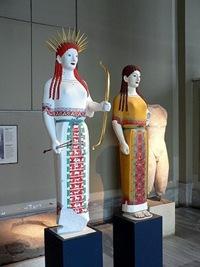 korai griegas restaurado el color