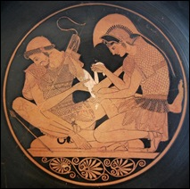 AquilesPatroclos- cerámica griega