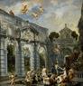 Jordaens - El amor de Cupido y Psique