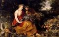 Rubens y Snyders - Ceres y Pan