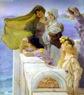 Sir Lawrence de Alma -Tadema, En la cuna de Afrodita