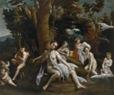 Cajés, Eugenio, la fábula de Leda