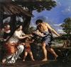 Cortona, Rómulo y Remo salvados por Faústulo