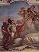 Tiépolo, Venus abandona a Eneas a las orillas de Libia