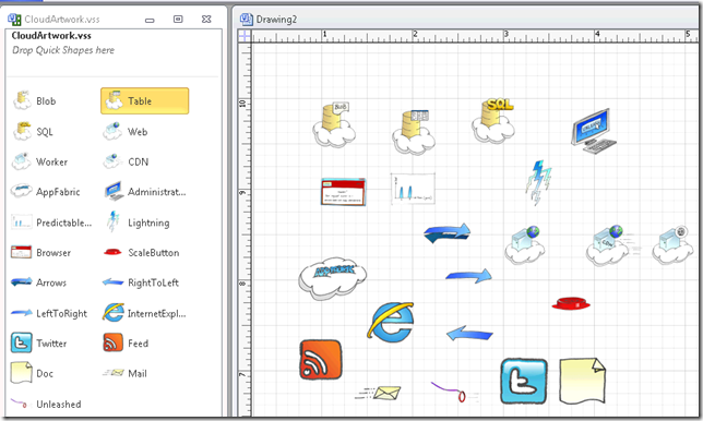 Visio Cloud Stencilshapes Gregs Cool Insert Clever Name Of