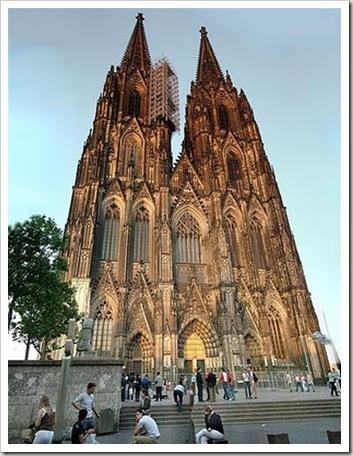 Domo de Colônia. catedral gótica