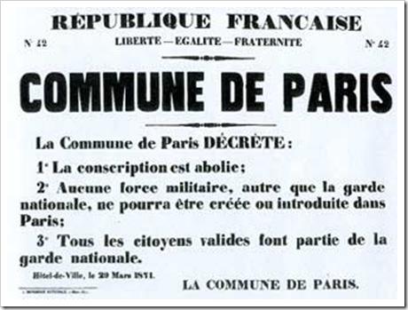 Republique Française - La commune de Paris 42