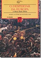 capa livro O despertar da Europa